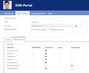 Rollen anlegen im IDM-Portal