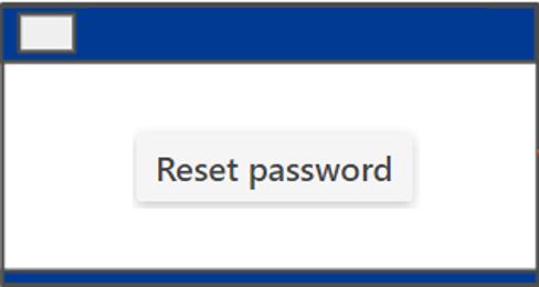 Reset Passwort mit Smart Pages - IDM-Portal
