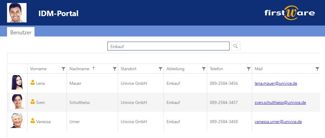 Schnell Kundeninformationen finden mit IDM-Portal