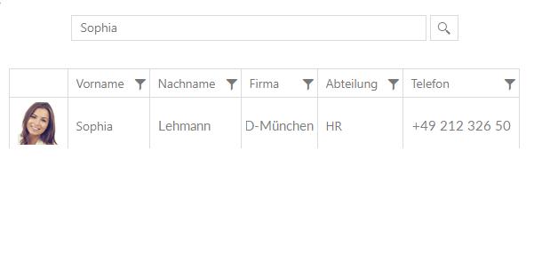Identity Management - Telefonbuch mit FirstWare IDM-Portal