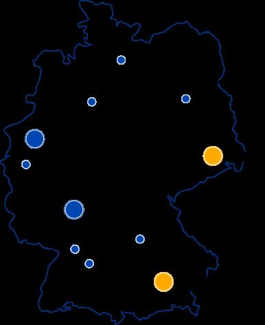 FirstAttribute Standorte in Deutschland