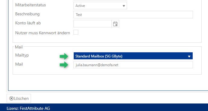 Systeme - Exchange - User-Anbindung